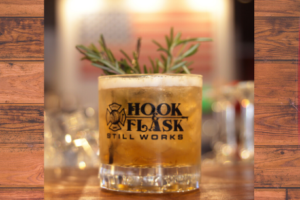 hook and flask
